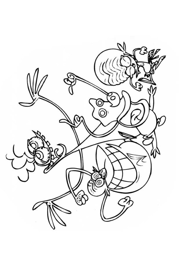 Coloriage et dessins gratuits Zinzin 73 à imprimer
