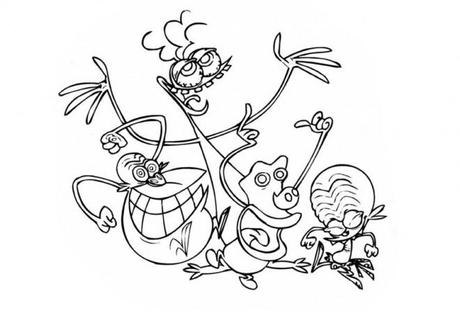 Coloriage et dessins gratuits Zinzin coloriage pour enfant à imprimer