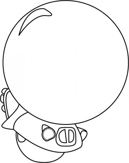 Coloriage et dessins gratuits Zinzin dessin Animé à imprimer à imprimer