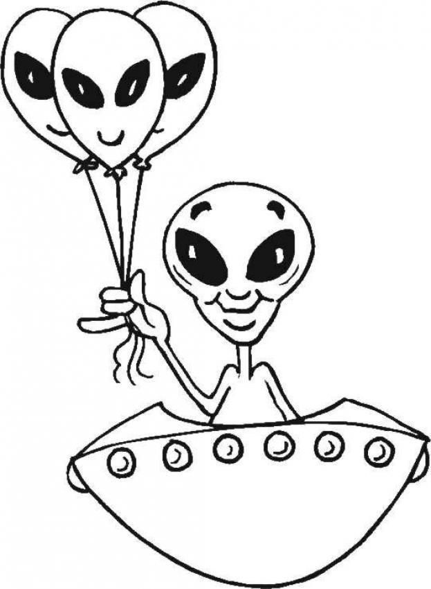 Coloriage et dessins gratuits Zinzin les extraterrestres à imprimer