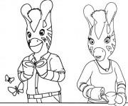 Coloriage et dessins gratuit Les Zouzous dessin animé à imprimer