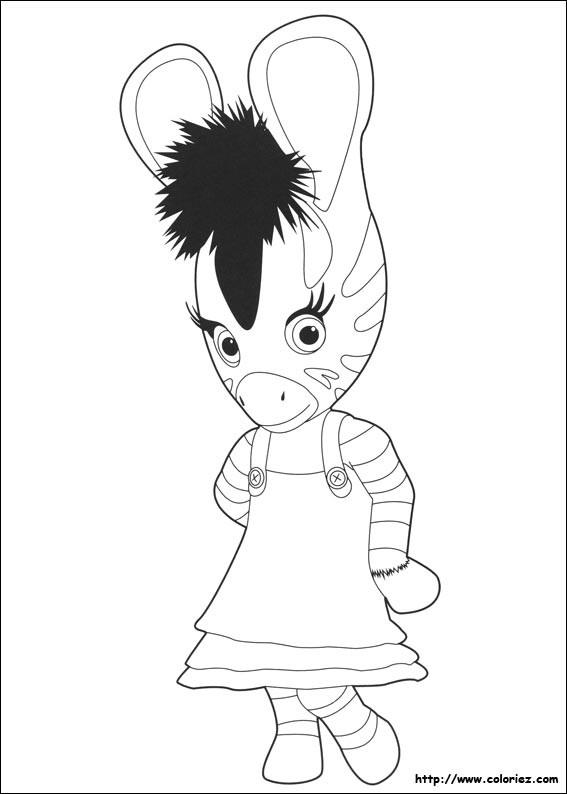 Coloriage zou z bre en dessin dessin gratuit imprimer - Zebre a dessiner ...