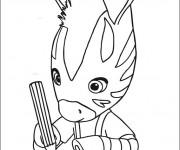Coloriage Zouzou dessine  gratuit