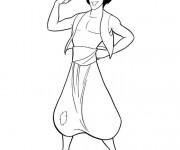 Coloriage Aladdin