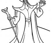 Coloriage dessin de Jafar