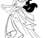 Coloriage et dessins gratuit Dessin de Jasmine à imprimer