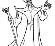 Coloriage Dessin du terrible Jafar