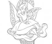 Coloriage et dessins gratuit Alice au pays des merveilles 14 à imprimer