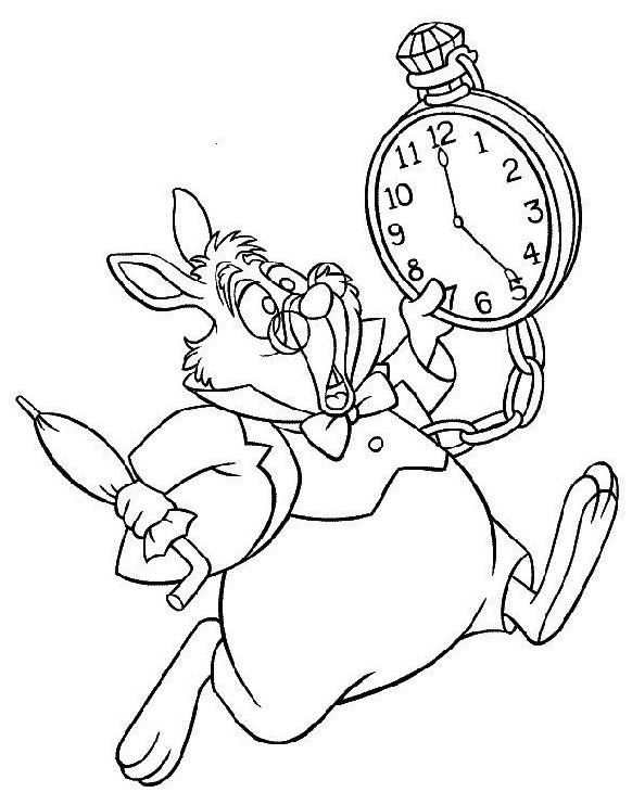 Coloriage et dessins gratuits Alice au pays des merveilles 15 à imprimer