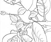 Coloriage et dessins gratuit Alice au pays des merveilles 16 à imprimer