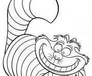 Coloriage et dessins gratuit Alice au pays des merveilles 17 à imprimer