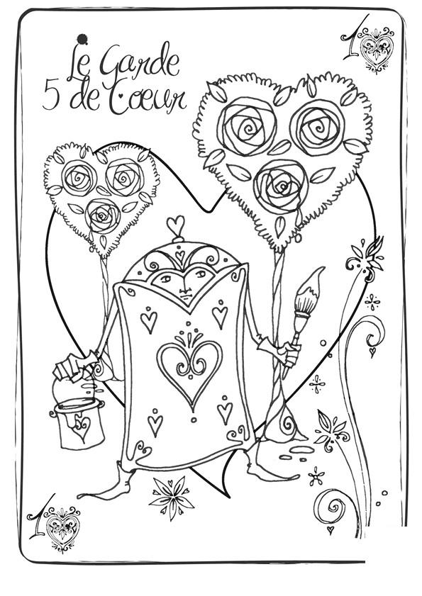 Coloriage et dessins gratuits Alice au pays des merveilles 43 à imprimer