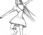 Coloriage Alice au pays des merveilles 49