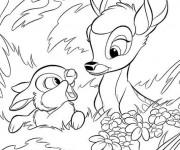 Coloriage Bambi 2