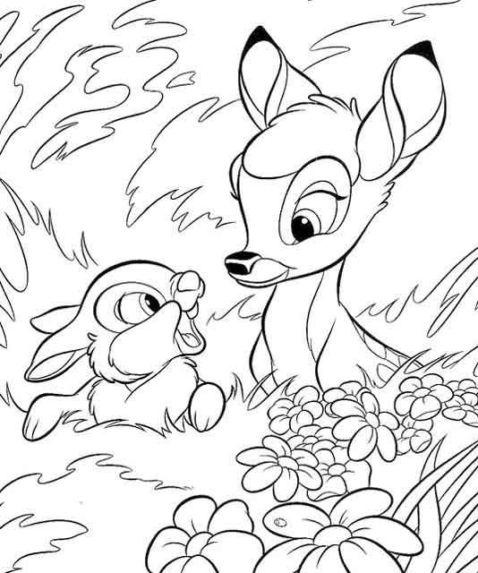 Coloriage et dessins gratuits Bambi 2 à imprimer