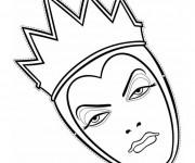 Coloriage La terrible reine