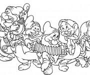 Coloriage les 7 nains de blanche neige dessin gratuit - Telecharger blanche neige et les 7 nains ...