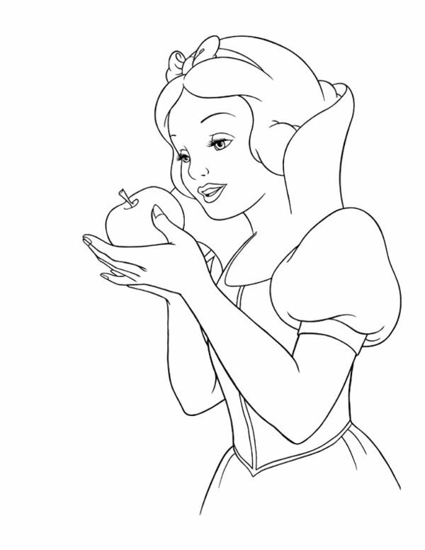 Coloriage et dessins gratuits Pomme blanche à imprimer