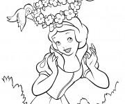 Coloriage et dessins gratuit Tête de princesse à imprimer
