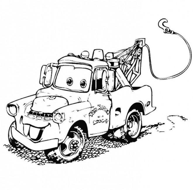 Coloriage et dessins gratuits Cars 28 à imprimer