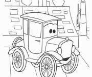 Coloriage Cars 36