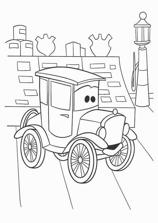 Coloriage et dessins gratuits Cars 36 à imprimer