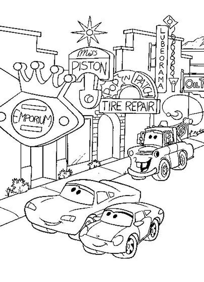 Coloriage et dessins gratuits Cars 58 à imprimer