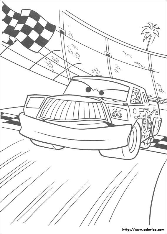 Coloriage et dessins gratuits Greg Candyman veut la victoire à imprimer