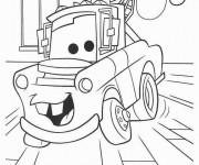 Coloriage et dessins gratuit Guido le remorqueur à imprimer