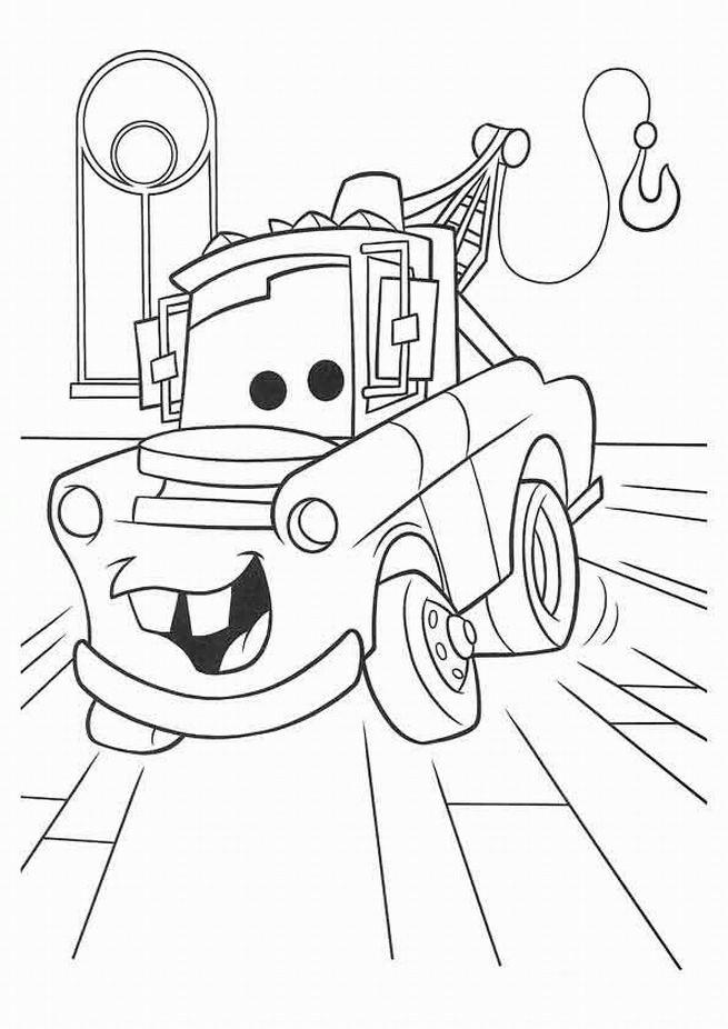 Coloriage et dessins gratuits Guido le remorqueur à imprimer