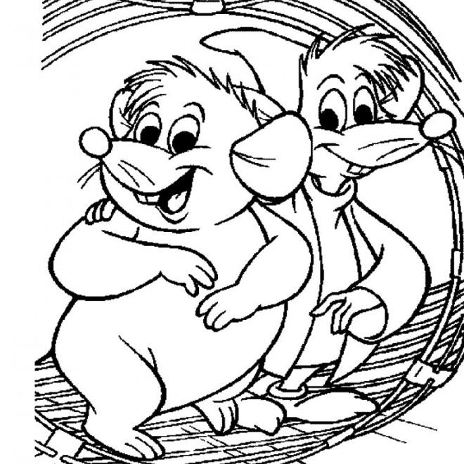 Coloriage et dessins gratuits Gus et Jaq à imprimer
