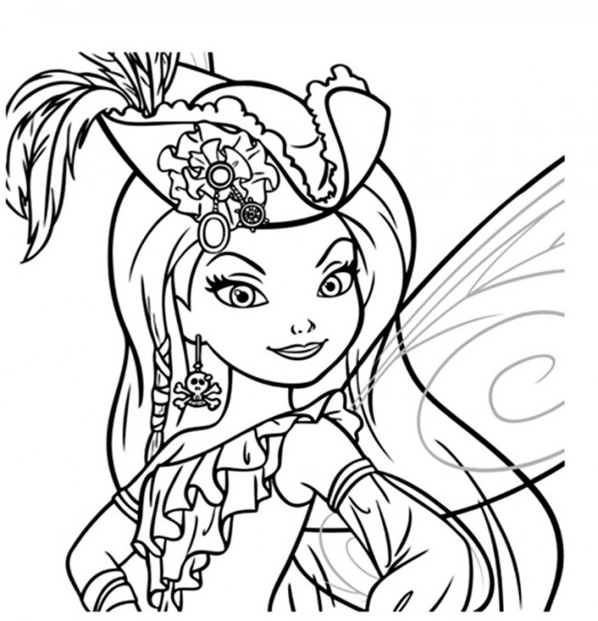 Coloriage fee clochette colorier dessin gratuit imprimer - Coloriage fee clochette ...
