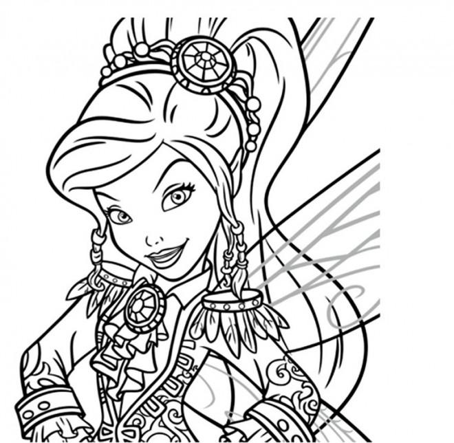Coloriage et dessins gratuits Fee Clochette Walt Disney à imprimer