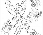 Coloriage et dessins gratuit Iridessa: Fee Clochette à imprimer