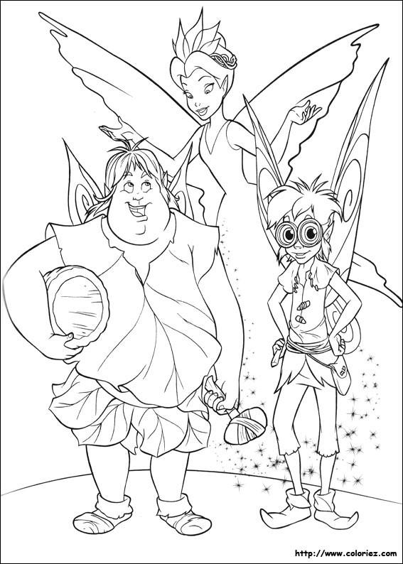 Coloriage et dessins gratuits La reine, Terence et Clark à imprimer
