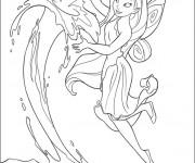 Coloriage et dessins gratuit Ondine: Fée Clochette à imprimer