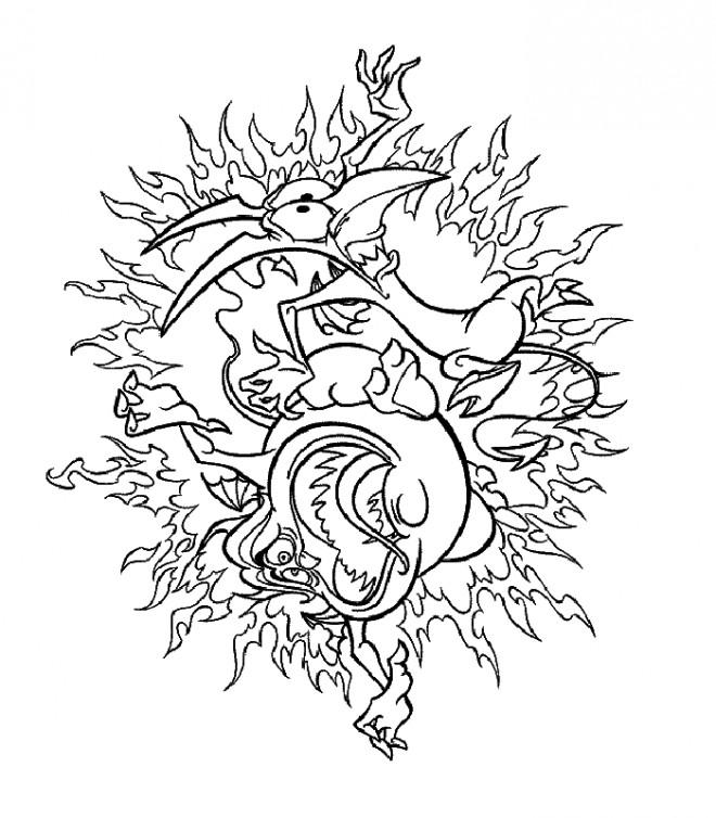 Coloriage et dessins gratuits Hercule 30 à imprimer