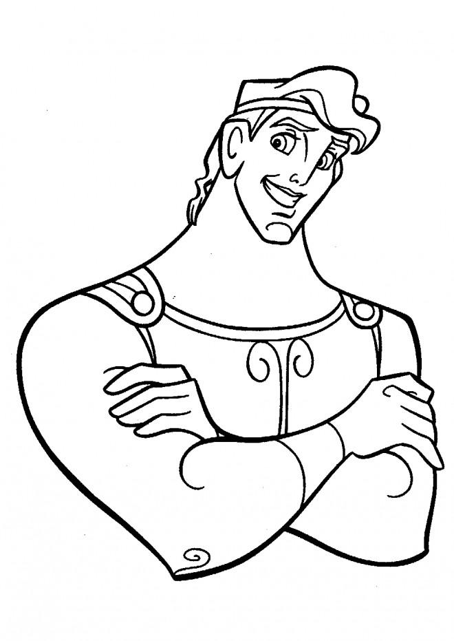Coloriage et dessins gratuits Hercule disney à imprimer