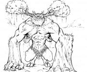 Coloriage Un monstre dans Hercule