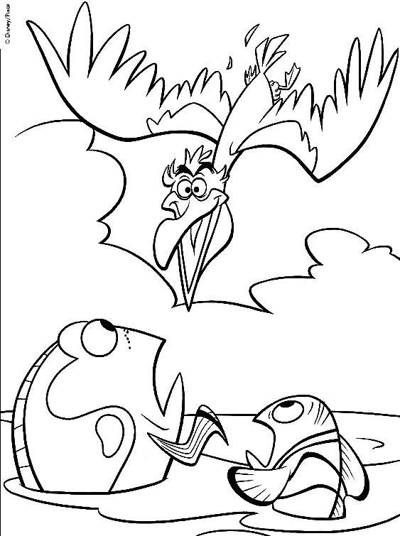 Coloriage et dessins gratuits Dory et Nemo à imprimer
