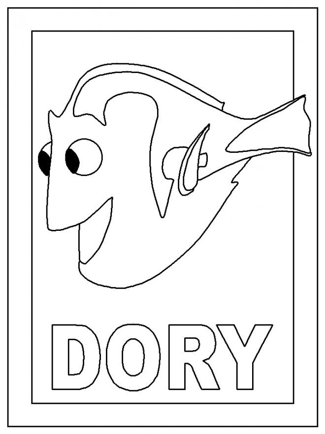 Coloriage et dessins gratuits Le monde de Dory 2 à imprimer
