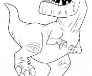 Coloriage dessin  Butch dans le bon dinosaure