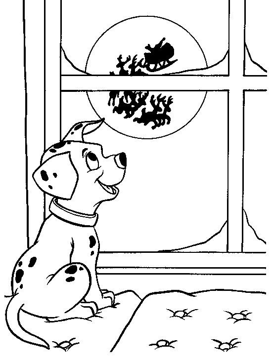 Coloriage et dessins gratuits Freckles en Noël à imprimer