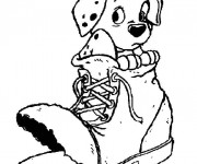 Coloriage Freckless: Les 101 dalmatiens
