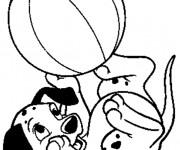 Coloriage et dessins gratuit Lucky: Les 101 dalmatiens à imprimer