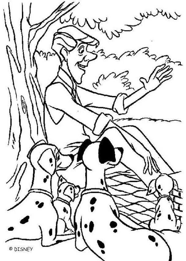 Coloriage et dessins gratuits Roger et les damatiens à imprimer