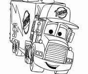 Coloriage Camion Mack à colorier