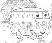 Coloriage et dessins gratuit Cars 12 à imprimer