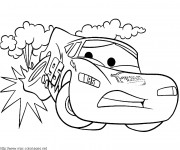 Coloriage Cars 15