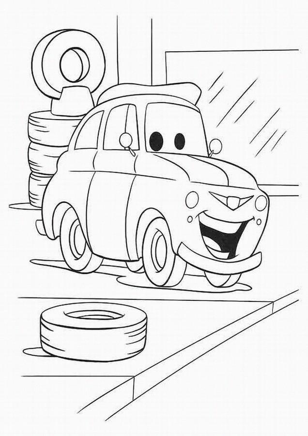 Coloriage et dessins gratuits Les Bagnoles 2 à imprimer